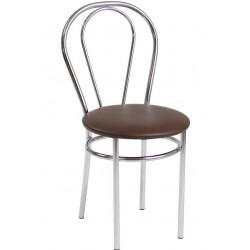 Krzesło Tulipan ciemny brąz (Furnitex)