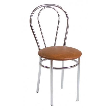 Krzesło Tulipan jasny brąz (Furnitex)