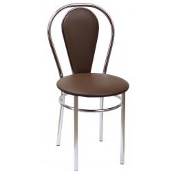 Krzesło Tulipan plus brąz (Furnitex)