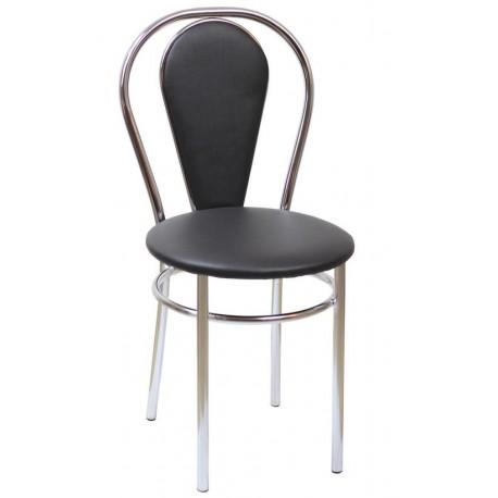 Krzesło Tulipan plus czarny (Furnitex)