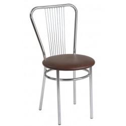 Krzesło Vega ciemny brąz (Furnitex)
