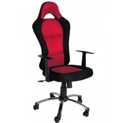 Fotel obrotowy QZY-1109C czerwony (Furnitex)