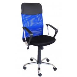 Fotel Obrotowy QZY-2501 niebieski (furnitex)