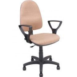 Fotel obrotowy QZY-C4 beżowy (Furnitex)