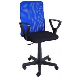 Fotel obrotowy QZY-F01 niebieski (Furnitex)