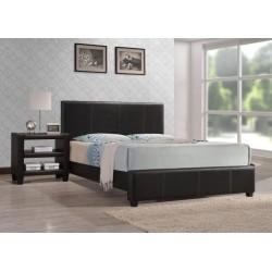 Łóżko 160 kolor brązowy