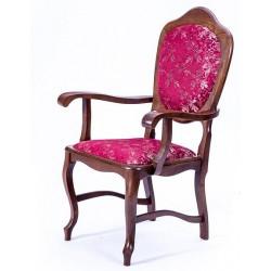 Krzesło Ludwik z podłokietnikiem (Bukowski)