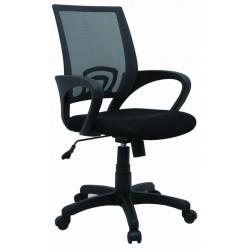 Fotel Obrotowy QZY-1121 czarny