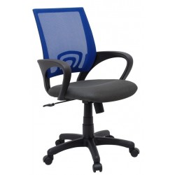 Fotel Obrotowy QZY-1121 niebieski