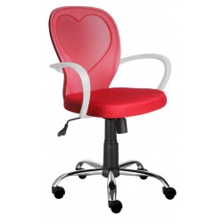 Fotel Obrotowy QZY-1447 czerwone