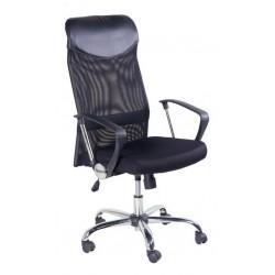 Fotel Obrotowy QZY-2501 czarny (furnitex)