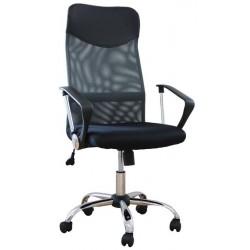 Fotel Obrotowy QZY-2501 szary (furnitex)