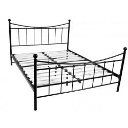 Łóżko 160 MBD040 czarny  (furnitex)