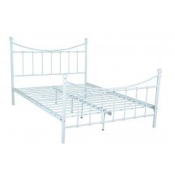 Łóżko 160 MBD040 biały  (furnitex)