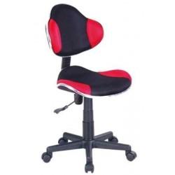 Fotel Obrotowy QZY-G2B czerwony