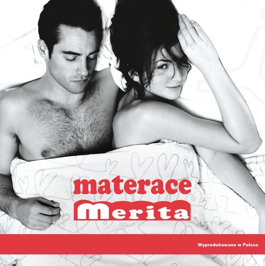 Katalog materacy Merita