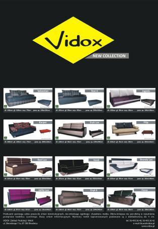 Katalog mebli Vidox