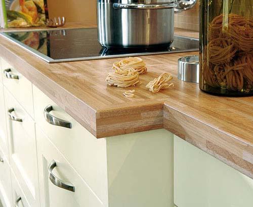 Blaty kuchenne imitujace drewno